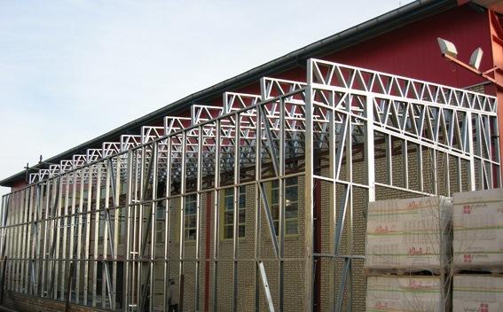 انبار و سالنهای صنعتی با ال اس اف